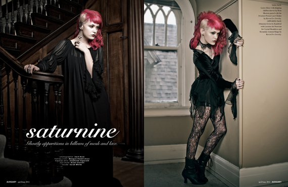 fashion editorial : saturnine