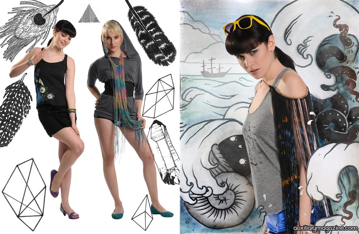 fashion editorial : daydream notebook
