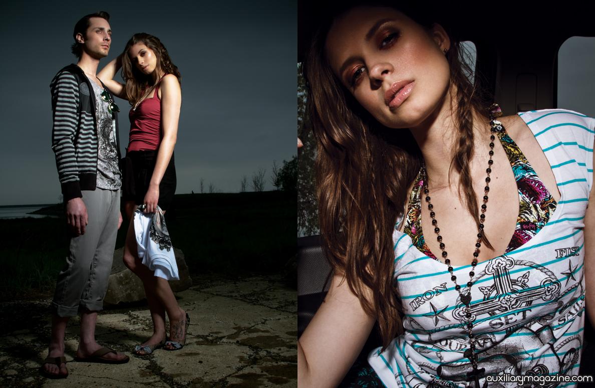 fashion editorial : get lost
