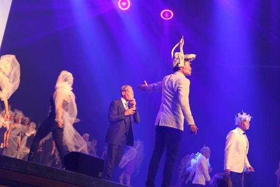 in attendance : Oribe Backstage 2011