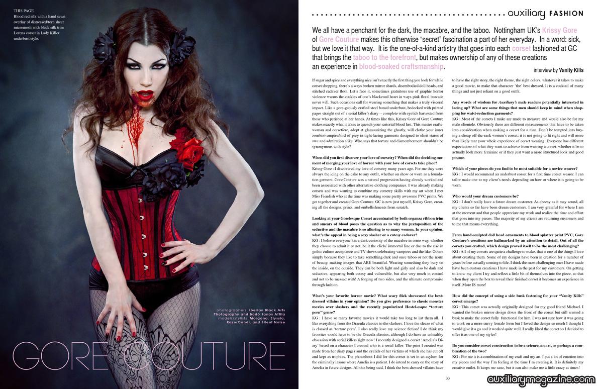 designer spotlight : Gore Couture