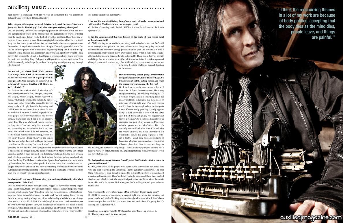 interview : Ogre