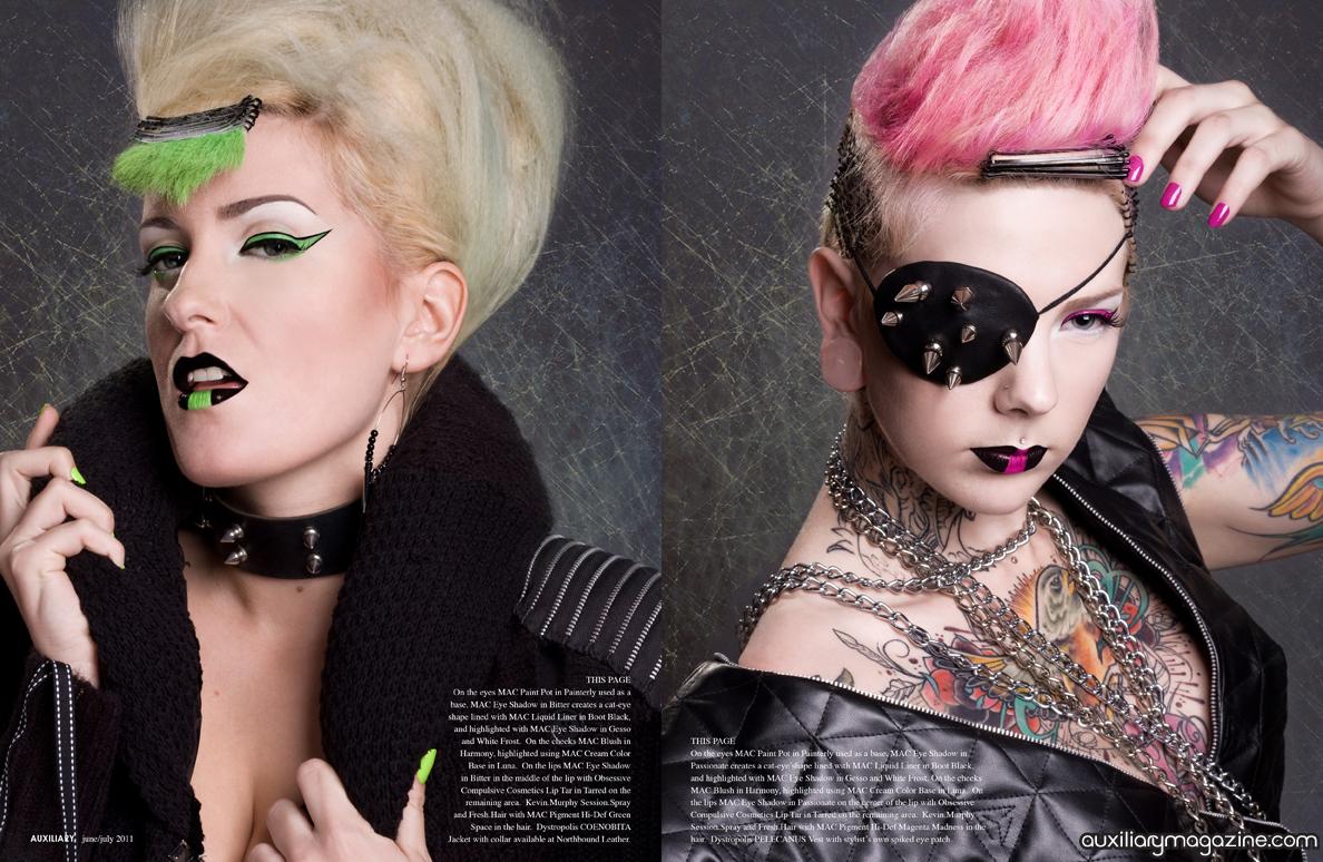 beauty editorial : Vanquish