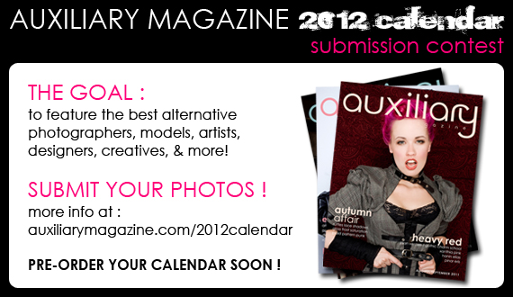 Auxiliary Magazine 2012 Calendar submission contest