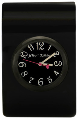 item of the week : large black bangle watch by Betsey Johnson