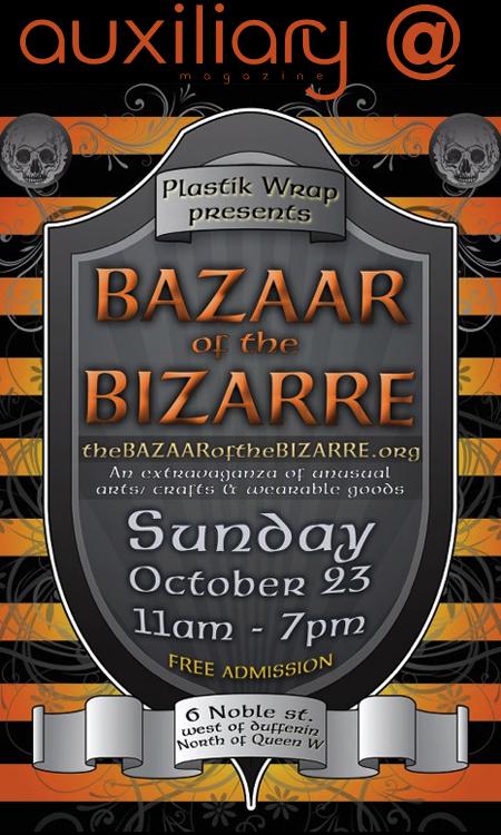 upcoming : The Bazaar of the Bizarre – Halloween Market Place