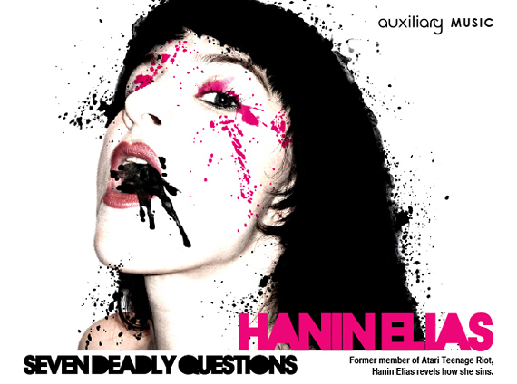 seven deadly questions : Hanin Elias