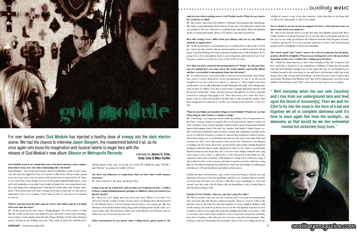 interview : God Module