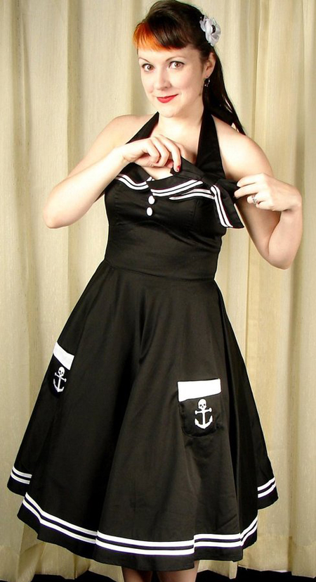 item of the week : motley sailor 50s dress by Hell Bunny