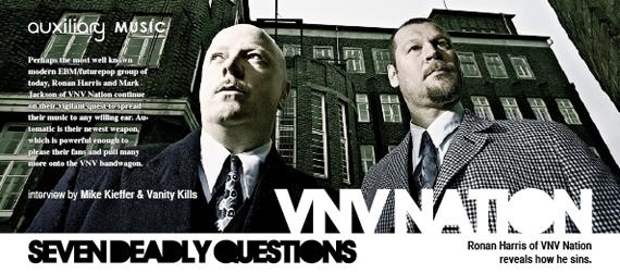 seven deadly questions : VNV Nation
