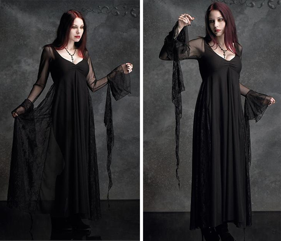 item of the week : juliet gown by Rose Mortem