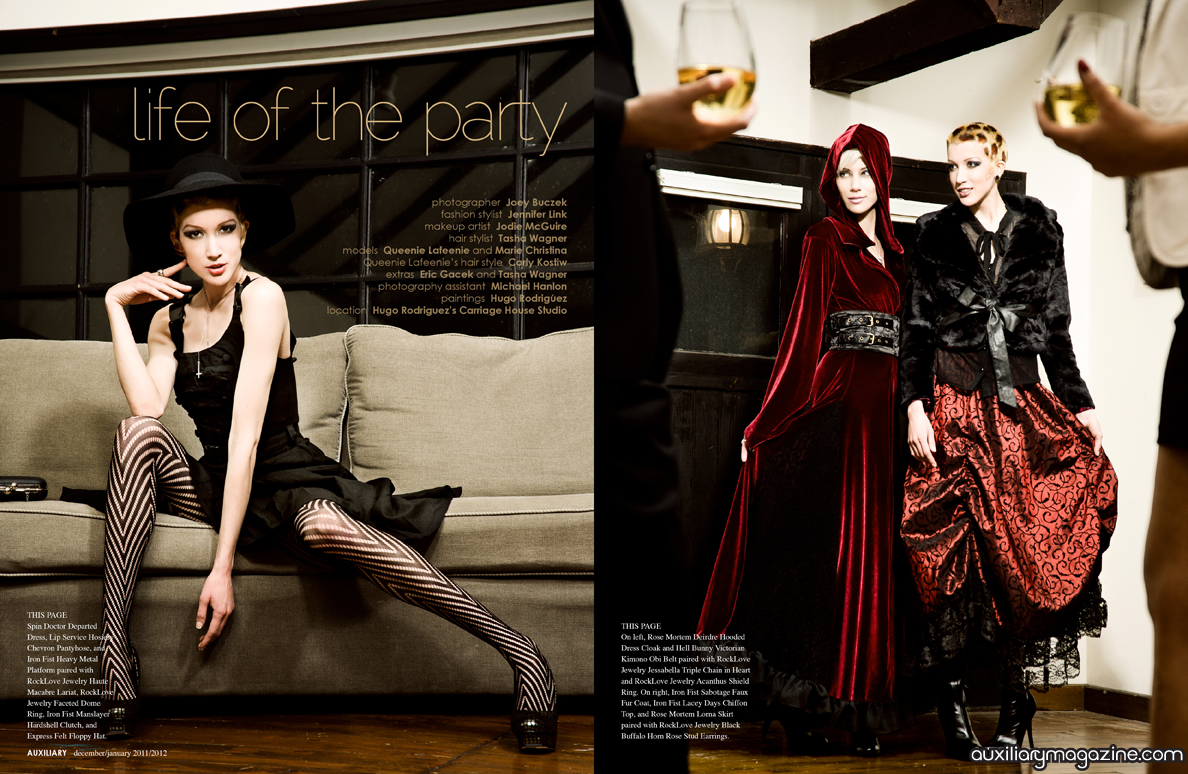 fashion editorial : life of the party