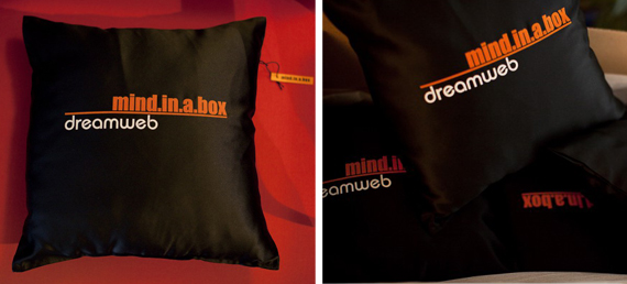 item of the week : mind.in.a.box dreamweb pillow