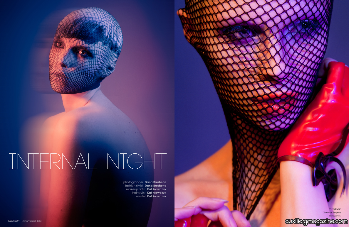 beauty editorial : internal night