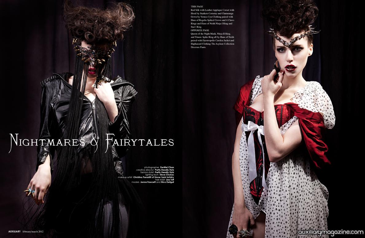 fashion editorial : nightmares & fairytales