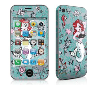 item of the week : molly mermaid mobile phone skin by Fluff
