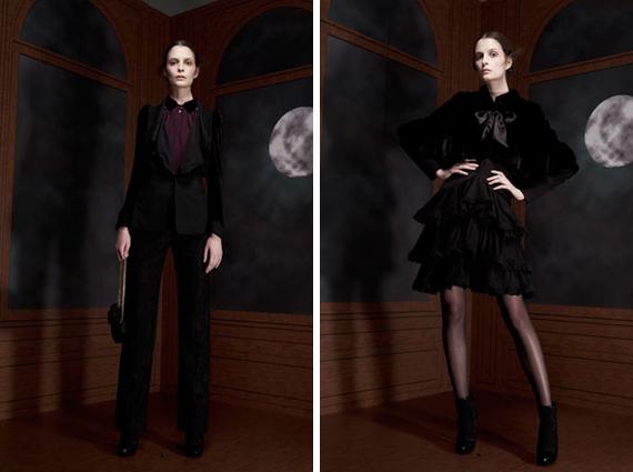 paris fashion week : Viktor & Rolf fall 2012