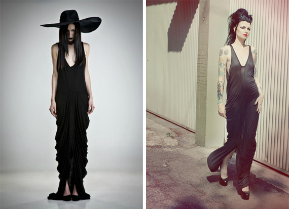 item of the week : koloth gown by Mother of London