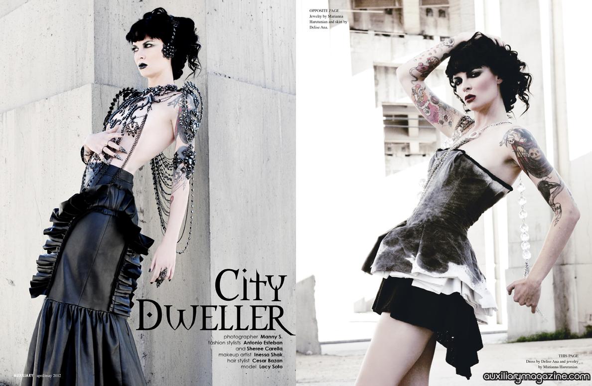 fashion editorial : City Dweller