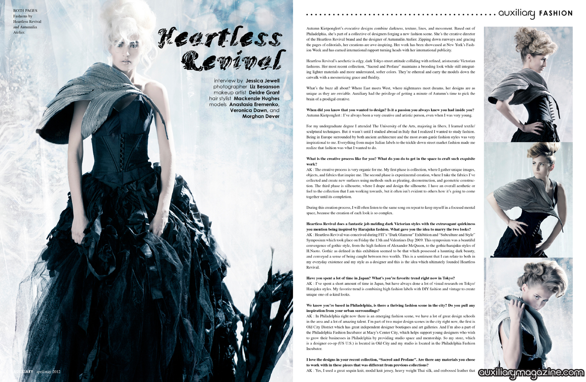 designer feature : Heartless Revival
