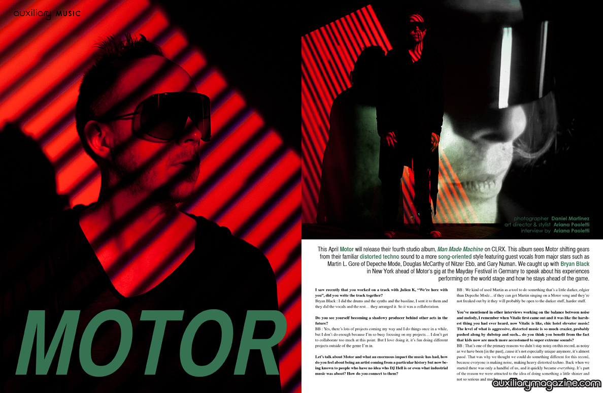 interview : Motor
