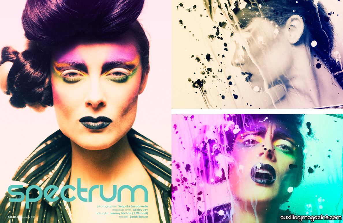 beauty editorial : spectrum