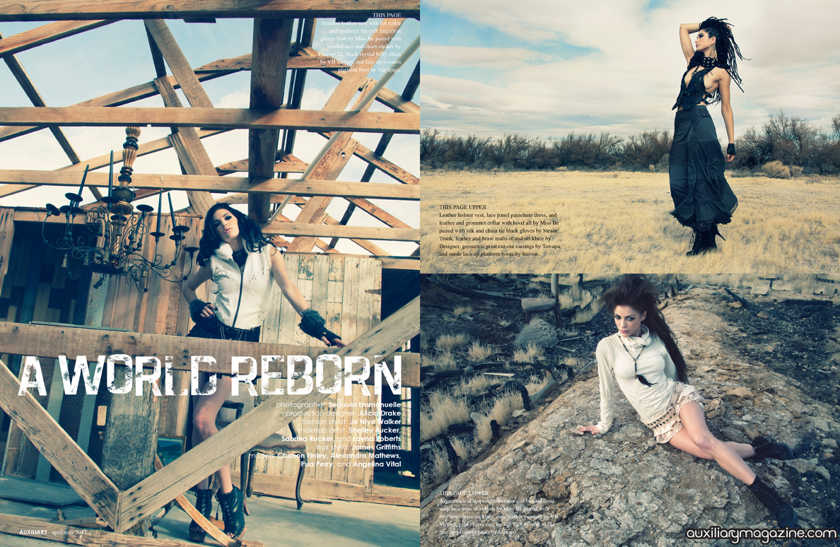 fashion editorial : A World Reborn
