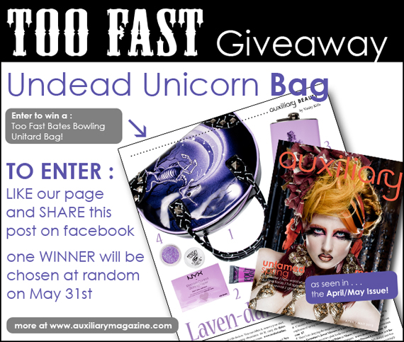 contest : Too Fast Undead Unicorn Bag Giveaway