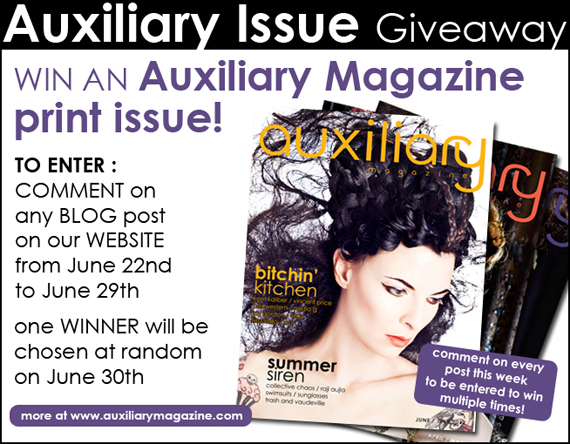 contest : Auxiliary Issue Comment Contest Giveaway