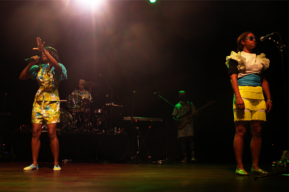 in attendance : Santigold at Town Ballroom