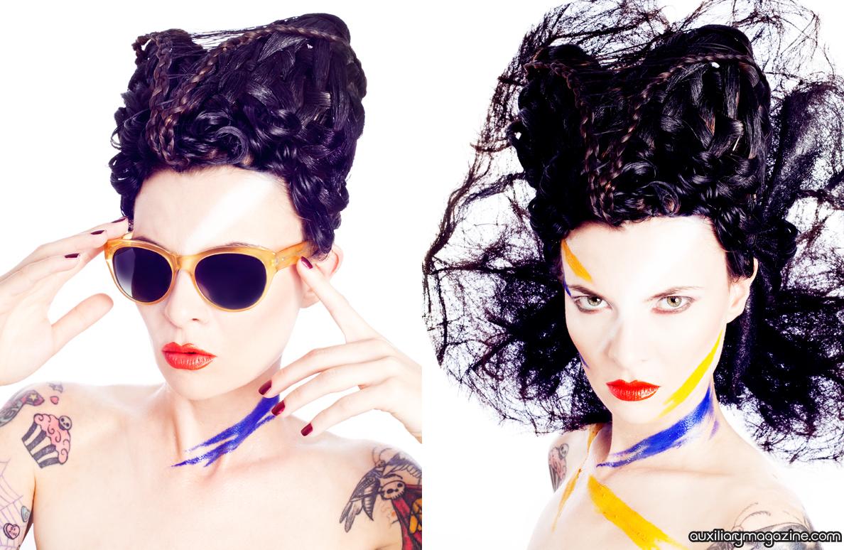 beauty editorial : Polarize