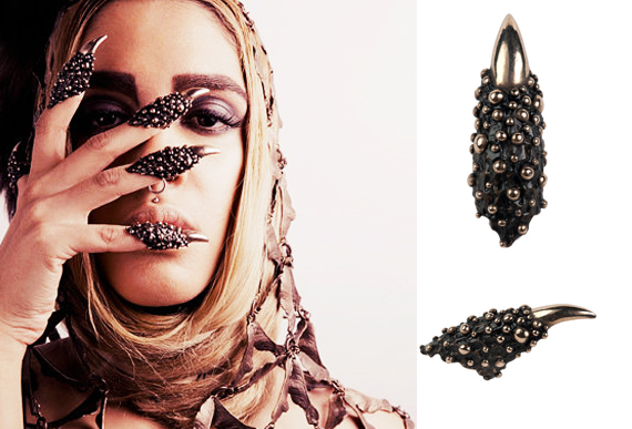 item of the week : Predator Rings Mini by Gilding Primal Instinct