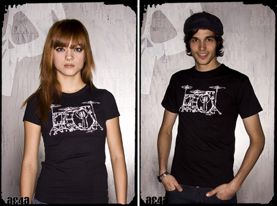 item of the week : Drum's T-Shirt by Playdead Cult
