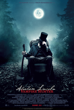 film review : Abraham Lincoln Vampire Hunter