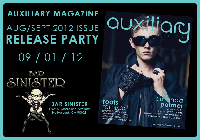 August/September 2012 Issue release party