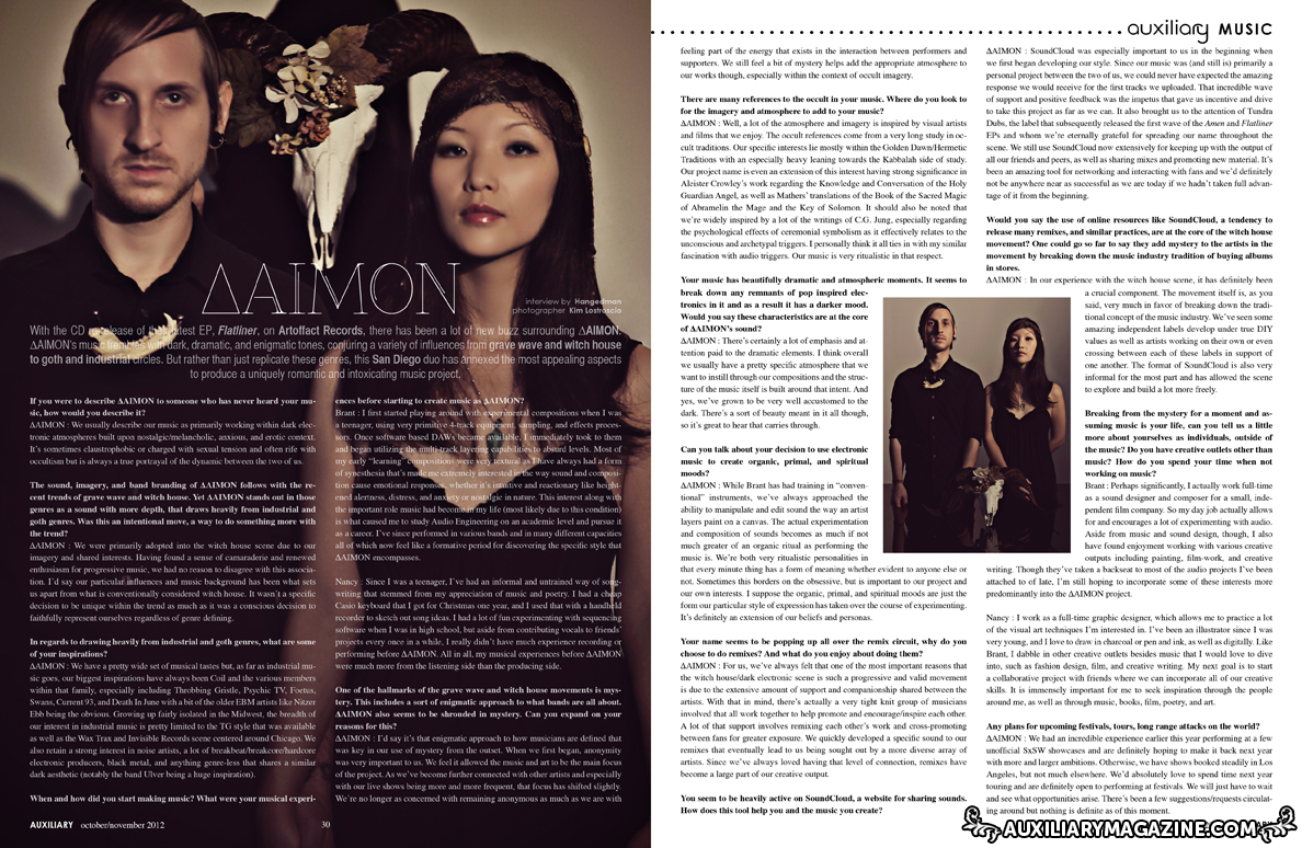 interview : ΔAIMON