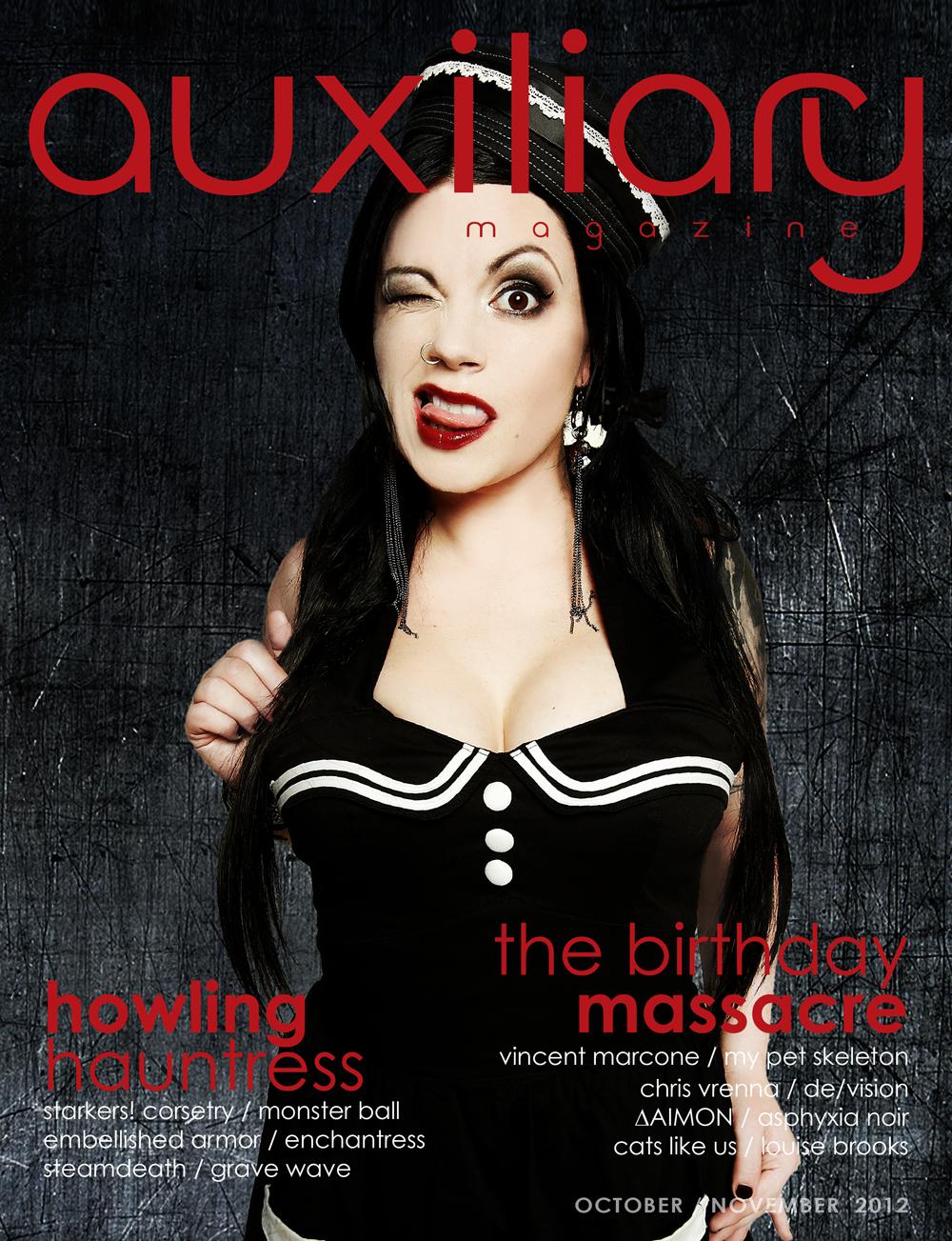 Auxiliary Magazine October/November 2012 cover
