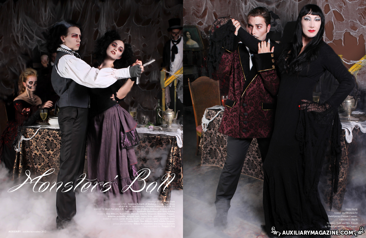 fashion editorial : Monsters' Ball