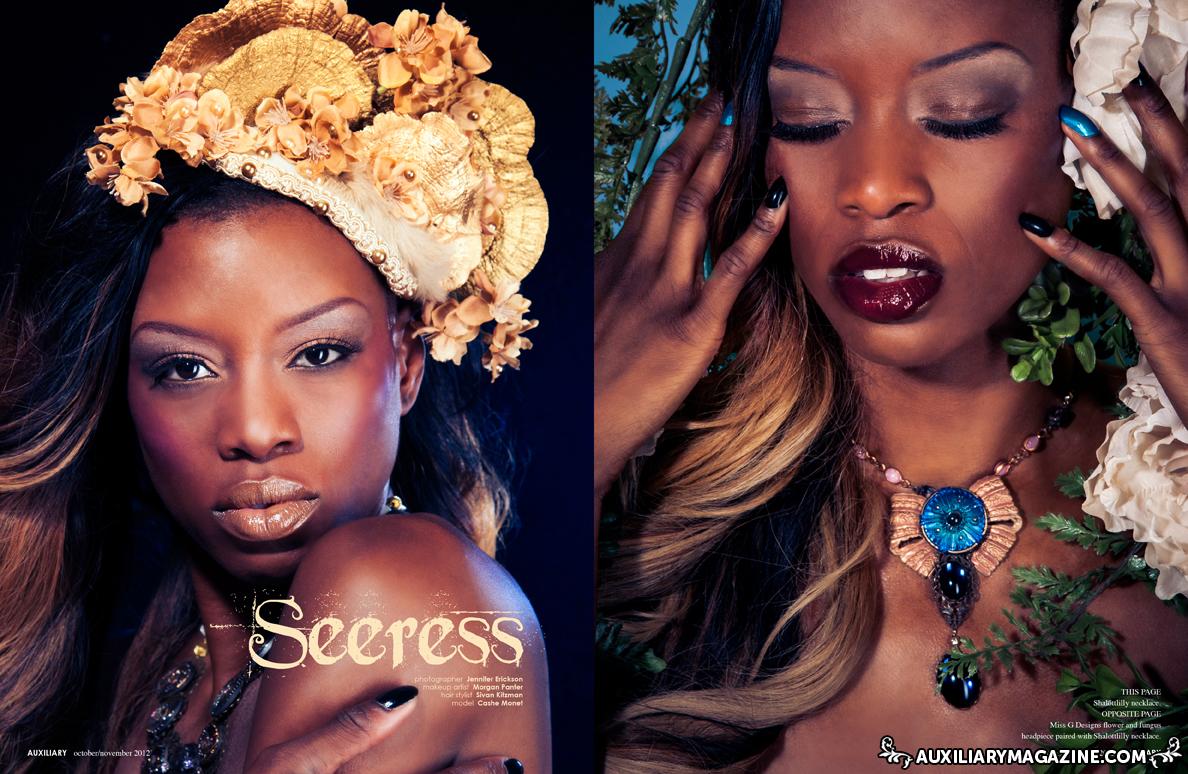 beauty editorial : Seeress