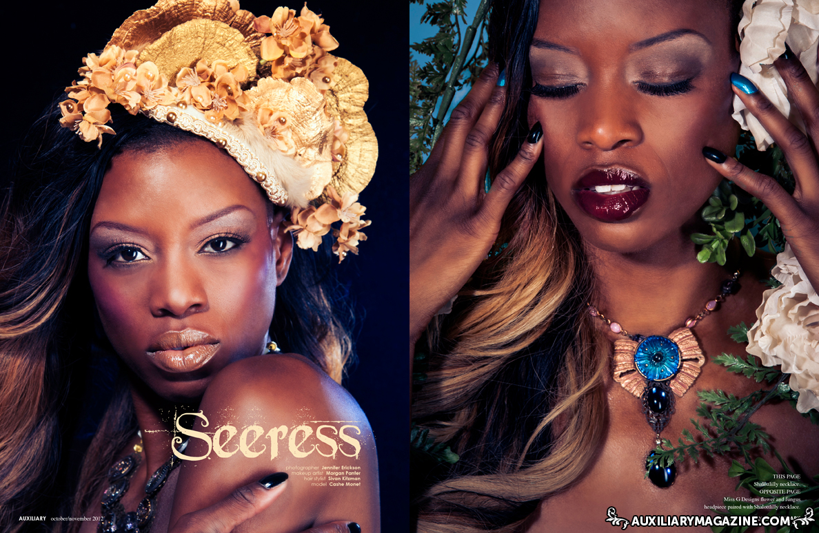 beauty editorial : Seeress
