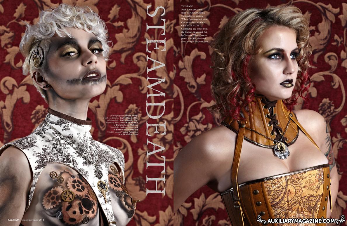 beauty editorial : Steamdeath