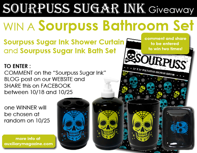 contest : Sourpuss Sugar Ink Giveaway
