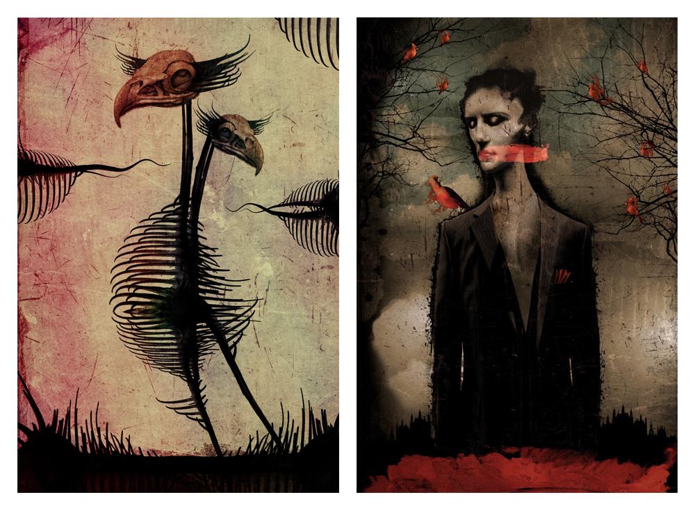 artist spotlight : Vincent Marcone of My Pet Skeleton