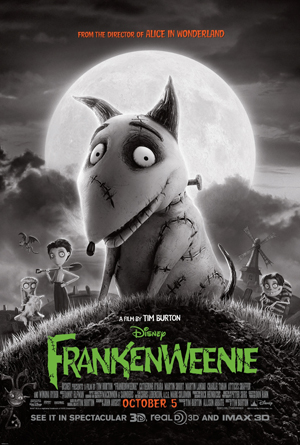 film review : Frankenweenie