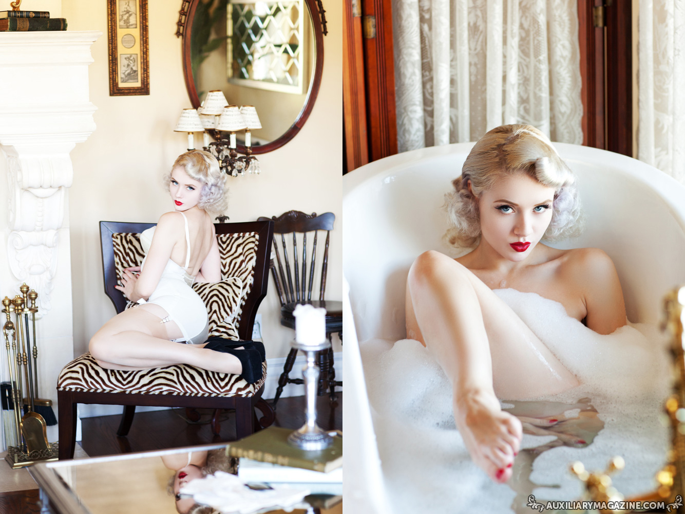 inspiration : Mosh – blonde bombshell