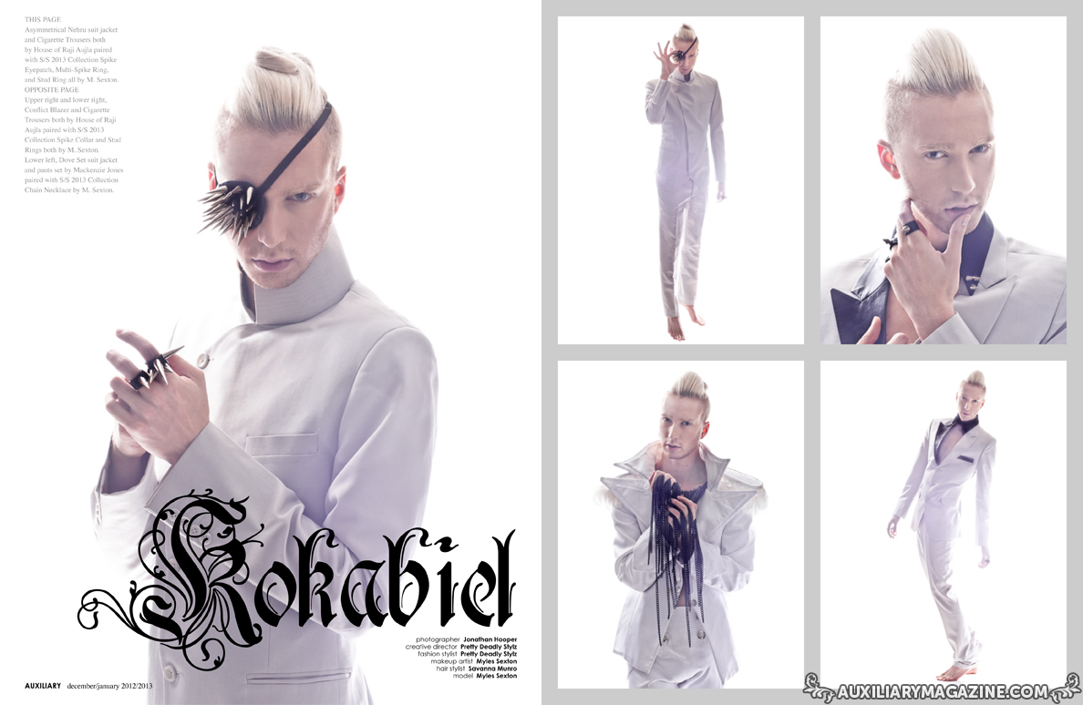 fashion editorial : Kokabiel