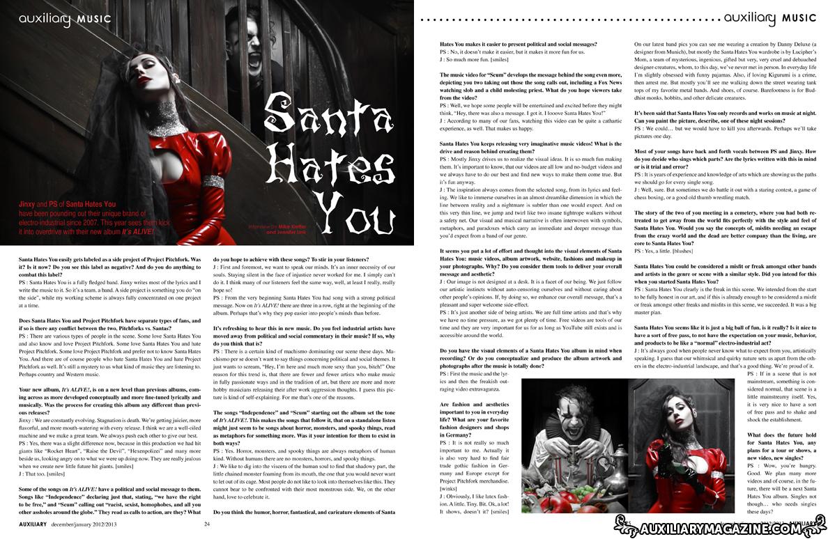interview : Santa Hates You