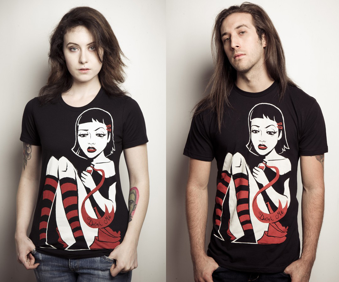 item of the week : Alice T-Shirt by Akumu Ink