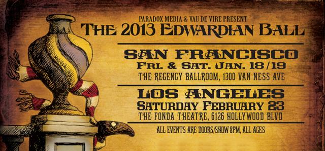 upcoming : The 2013 Edwardian Ball