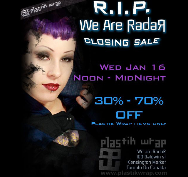 We Are Radar closing its doors today